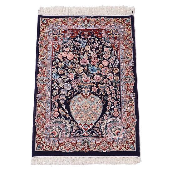ペルシャ絨毯 イスファハン 130×92cm