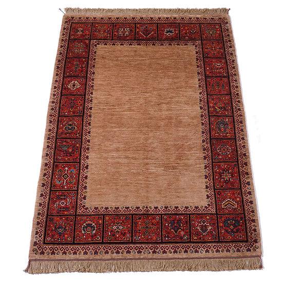 ペルシャ絨毯 カシュガイ Berahne pushan 205×153cm