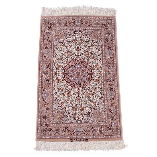 ペルシャ絨毯 イスファハン 135×83cm