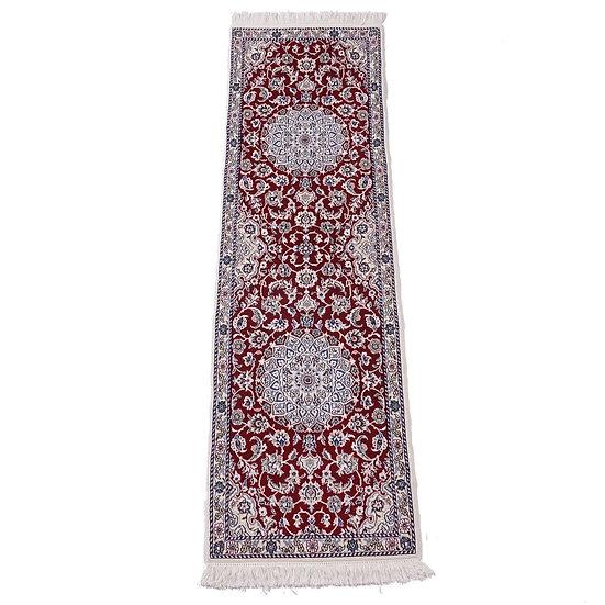 ペルシャ絨毯 ナイン 9la 204×60cm