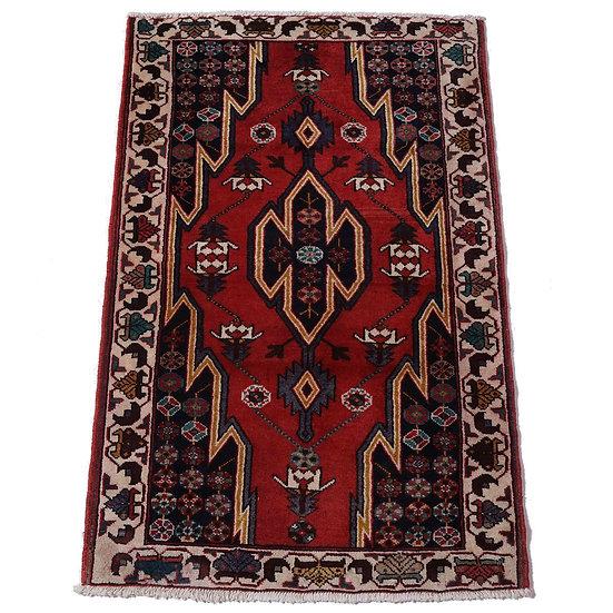 ペルシャ絨毯 マズレガーン 130×86cm