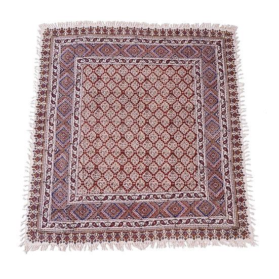 ペルシャ更紗 ガラムカール 150×150cm