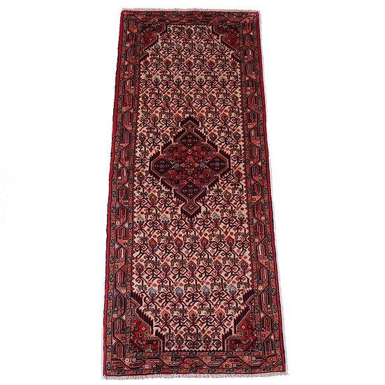 ペルシャ絨毯 タージアーバード 195×79cm
