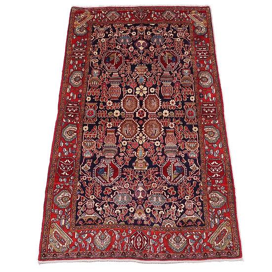 ペルシャ絨毯 ジョウザーン 219×130cm