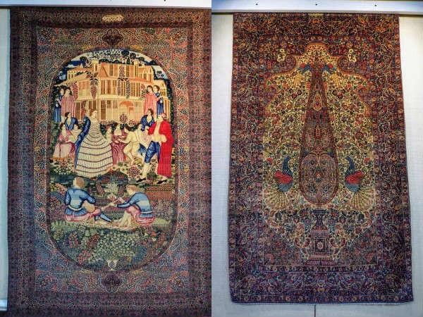ラーヴァル絨毯 テヘラン絨毯博物館