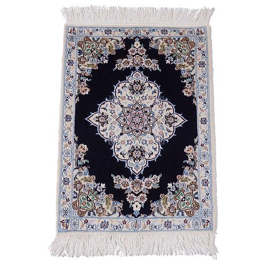 ペルシャ絨毯 ナイン 9la 92×65cm