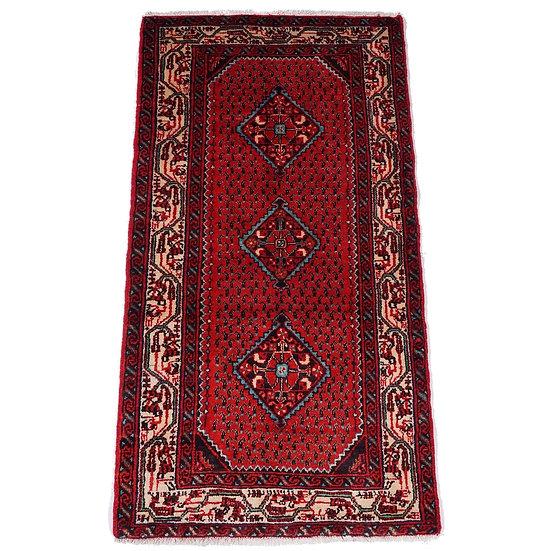 ペルシャ絨毯 エンジェラース 142×75cm