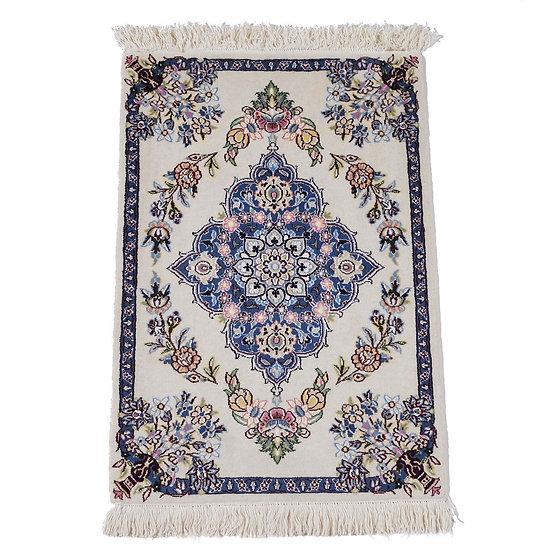 ペルシャ絨毯 ナイン 9la 90×62cm
