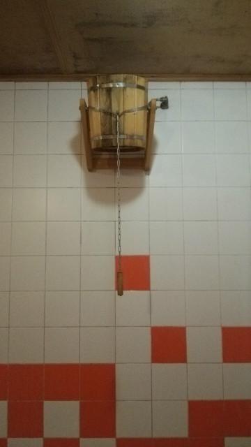 バーニャ サウナ 水桶