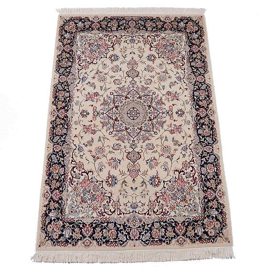 ペルシャ絨毯 ナイン Sherkat farsh Nain 212x143cm 9la