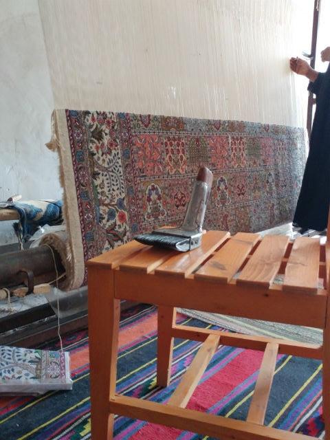 セイエダール村 絨毯づくり