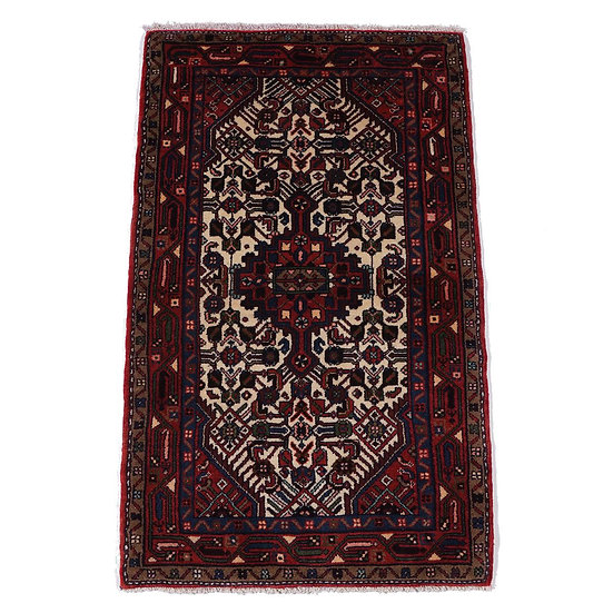 ペルシャ絨毯 タージアーバード 130×80cm