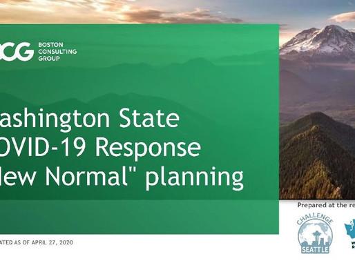 "Washington Roundtable: Washington State COVID-19 Response ""New Normal"" planning"