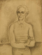 Edgard SCAUFLAIRE (self portrait)