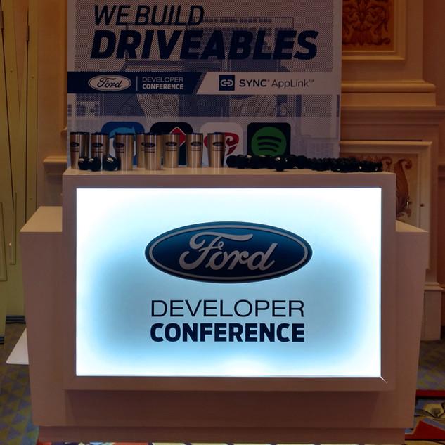 Ford Developer Conference Custom Counter Build