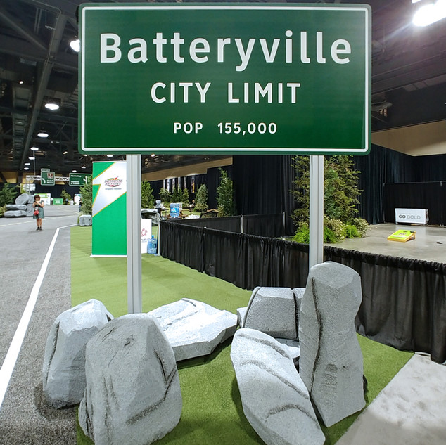 Interstate Batteries Sign Fabrication and Builds