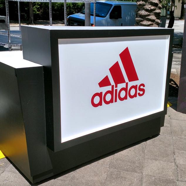 Adidas | Harden Custom Kiosk Build & Wrap