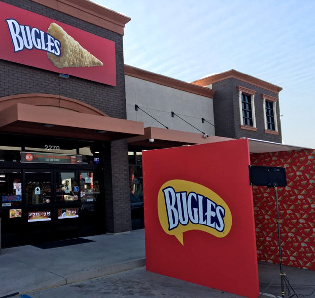 Bugles AMPM Takeover