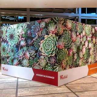 Westfield Mall Barricade Wraps