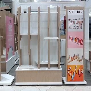 VT x BTS Backlit Fabric & Signs