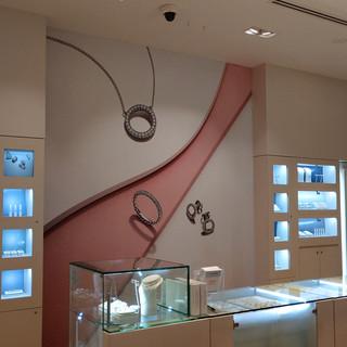 Pandora Jewelers Retail Wall Wraps