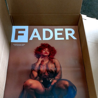 Fader Magazine Large Format Posters