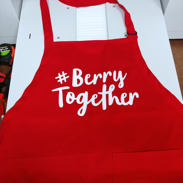 Driscoll's Berries Single Color Aprons