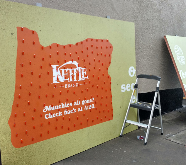 Kettle Brand Interactive Billboard