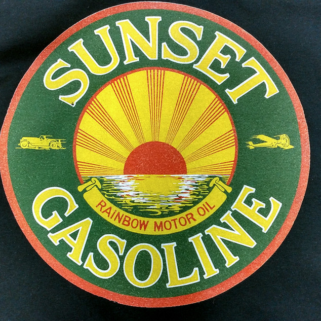 Sunset Gasoline Direct Print Shirts