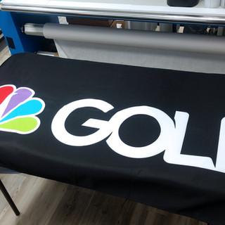 NBC Dye Sublimated Table Throw