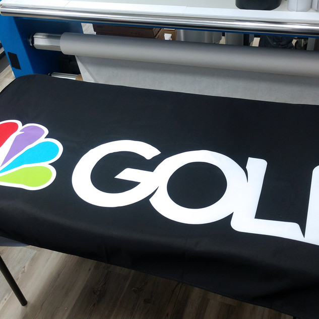 NBC Dye Sublimated Table Throw