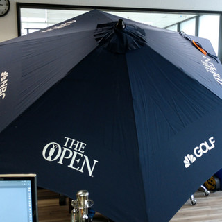NBC Golf Custom Umbrella Graphics