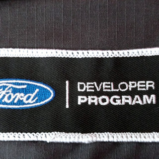 Ford Developer Program Embroidered Patches