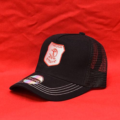 כובע מצחיה שחור | Black Cap