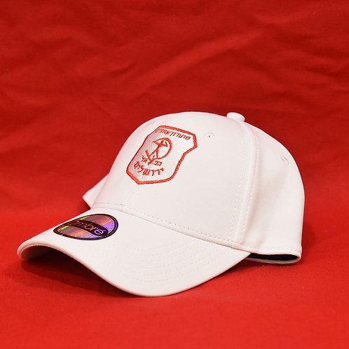 כובע מצחיה לבן | White Cap
