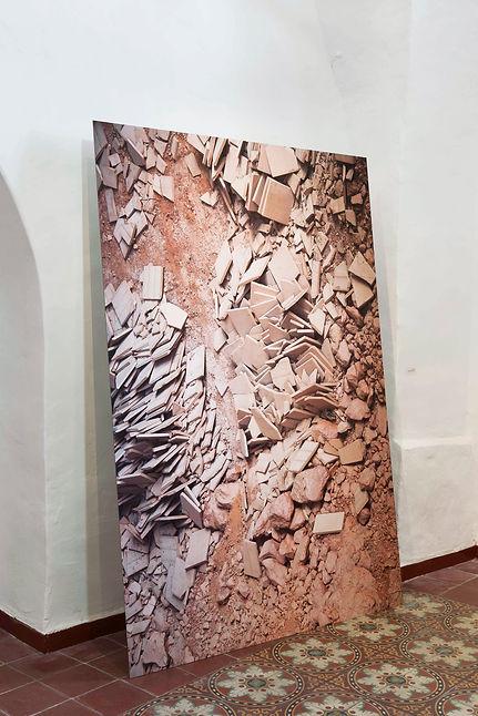 Shir Lusky, Untitled(tiles)מתוך חזית אחו