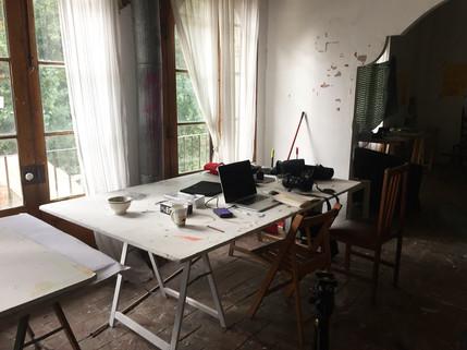 Artist Residency / Can Serrat Spain.