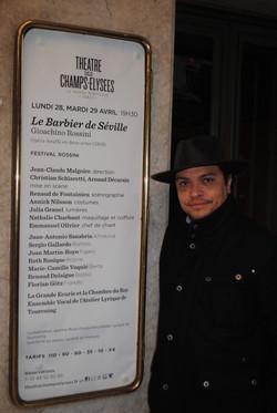 Théâtre des Champs Elysées - Paris