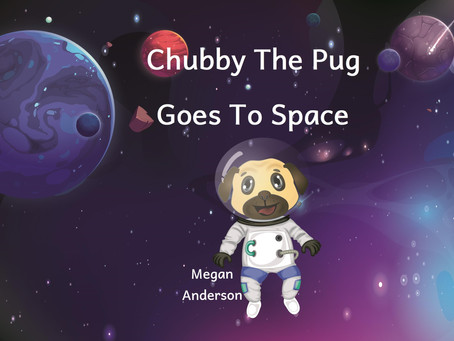 Children's Book Review: Chubby The Pug Goes To Space