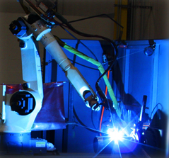 Robotic Welder Arm