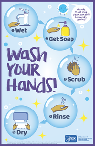 FREE POSTERS: Wash you hands!