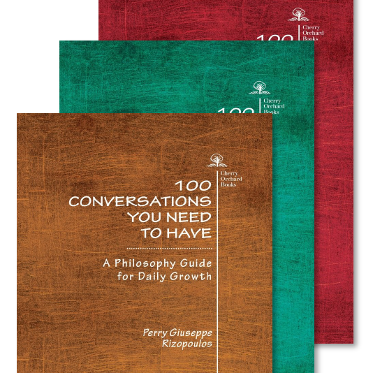 Congratulations to HYP Author Perry Rizopoulos on his latest publication, 100 Conversations You Need to Have!
