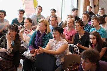 Участнии Школы социального предпринимательства Новотерра