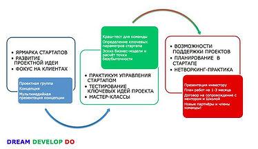 Шаги стартапа Новотерра