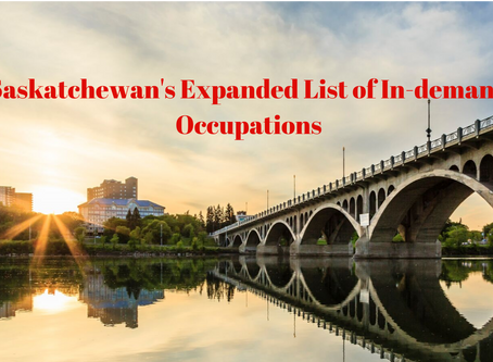 Saskatchewan's New List of In-Demand Occupations
