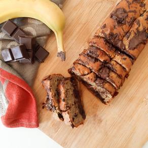 Choco-Banana cake