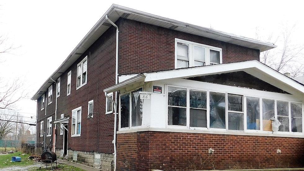 7 unit Multi Family 86 Edgevale St. Highland Park, MI 48203