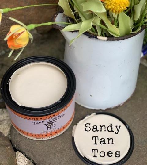 Sandy Tan Toes