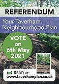 Taverham NP poster for referendum (low r