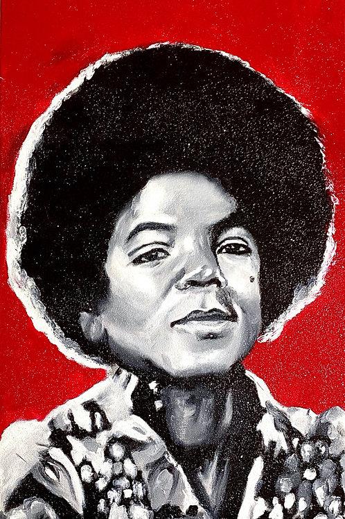 """Michael Jackson"" Original Art"